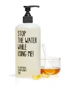 STOP THE WATER WHILE USING ME All Natural Lemon Honey Hand Balm REVIEW